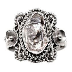 Gorgeous 4 ct Herkimer Diamond Ring