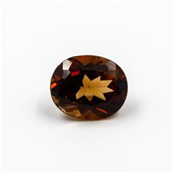 INCREDIBLE 6.08 CT IMPERIAL TOPAZ SOLITARE