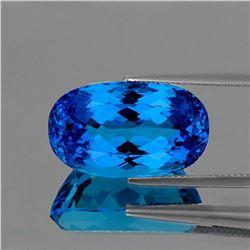 NATURAL INTENSE SWISS BLUE TOPAZ 15 MM  [IF-VVS]