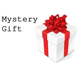 Mystery Gift valued at minimum of 750 Dollars
