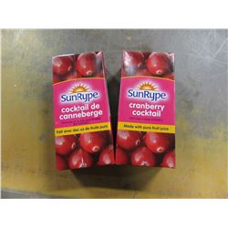 SUNRYPE CRANBERRY COCKTAIL (2 CARTONS) - PER BUNDLE