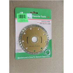 "NEW - 4.5"" DIAMOND SAW BLADES - PER PKG"