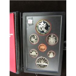 1983 PROOF CASED CANADA DOUBLE DOLLAR SILVER COIN SET