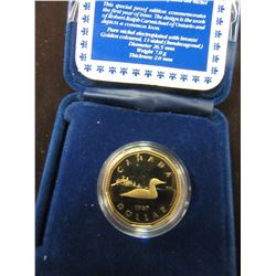 1987 PROOF CASED CANADA LOON DOLLAR