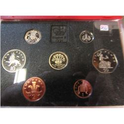 1991 ROYAL MINT PROOF COIN SET