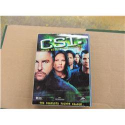 ESTATE - DVD SET OF FOURTH SEASON OF CSI