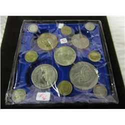TRAY OF SILVER & WORLD COLLECTIBLE COINS