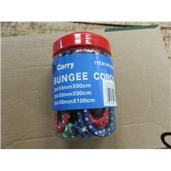 NEW - 9 PIECE BUNGEE CORD SET
