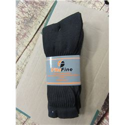 NEW - MEN'S DARK BLUE SOCKS (3 PAIR) - PER BUNDLE