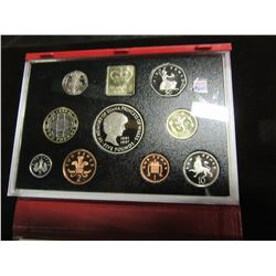 1999 ROYAL MINT PROOF MINT COIN SET