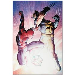 "Marvel Comics ""Astonishing Spider-Man & Wolverine #3"" Numbered Limited Edition Giclee on Canvas by A"