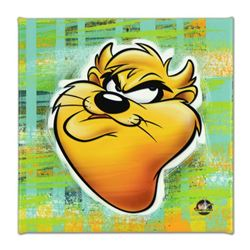 "Looney Tunes, ""Taz"" Numbered Limited Edition on Canvas with COA. This piece comes Gallery Wrapped."