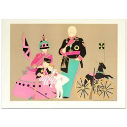 """Admiral Sir Alvmar & Family"" Limited Edition Lithograph by Denis Paul Noyer, Numbered and Hand Sign"