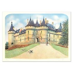 "Rolf Rafflewski, ""Chateau de Chaumont"" Limited Edition Lithograph, Numbered and Hand Signed."