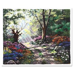 """Anatoly Metlan, """"Rays of Sunshine"""" Limited Edition Serigraph, Numbered and Hand Signed with Certific"""