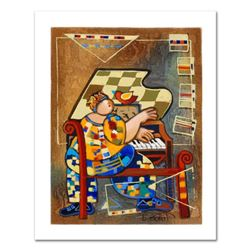 """Dorit Levi, """"The Grand Piano"""" Limited Edition Serigraph, Numbered and Hand Signed with Certificate o"""