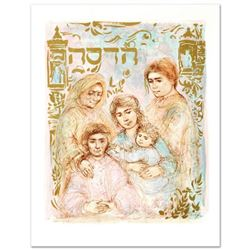 """Hadassah, The Generation"" Limited Edition Lithograph by Edna Hibel, Numbered and Hand Signed with C"