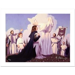 """The Return Of The King"" Limited Edition Giclee on Canvas by The Brothers Hildebrandt. Numbered and"