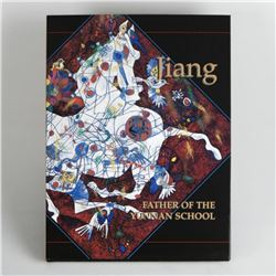 """Jiang, Father of Yunnan School"" This Fine Art Book Features Jiang Tiefeng's Art and Commentary by J"