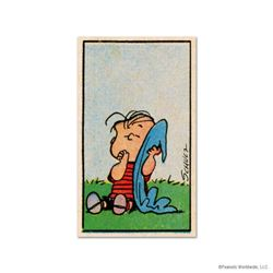 "Peanuts, ""Blanket"" Hand Numbered Limited Edition Fine Art Print with Certificate of Authenticity."