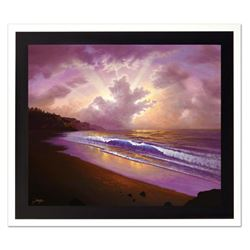 "Jon Rattenbury, ""Lullaby Seashore"" Limited Edition Giclee on Canvas, Numbered and Hand Signed by the"