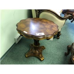 SCHNADIG ACCENT TABLE.  RETAIL $2,299.00
