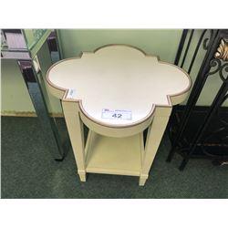COSMOPOLITAN END TABLE.  RETAIL $1,350.00