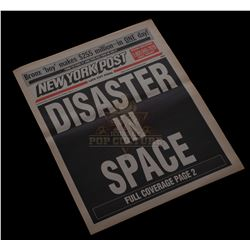 "Armageddon – ""Disaster In Space"" Newspaper – V340"