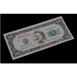 Back to the Future Part II – Biff Co. $100.00 Bill – V353