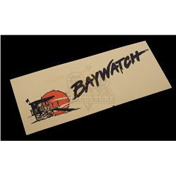 Baywatch (TV 1989-2001) – Crew Parking Pass – V457
