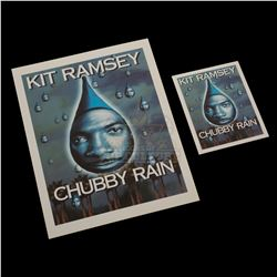 "Bowfinger – ""Chubby Rain"" Premiere Ticket & Credits Sheet – V569"