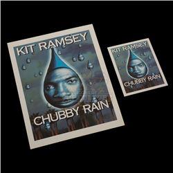 "Bowfinger – ""Chubby Rain"" Premiere Ticket & Credits Sheet – V569"