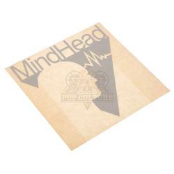 "Bowfinger – ""MindHead"" Logo Sticker – V573"