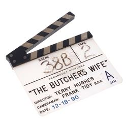 Butcher's Wife, The - Production Used Clapper Board – V354