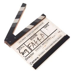 Dumb and Dumberer: When Harry Met Lloyd - Production Used Clapper Board – V382