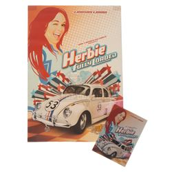 "Herbie Fully Loaded – ""53"" Charm Crew Gift & Screening Ticket – V396"