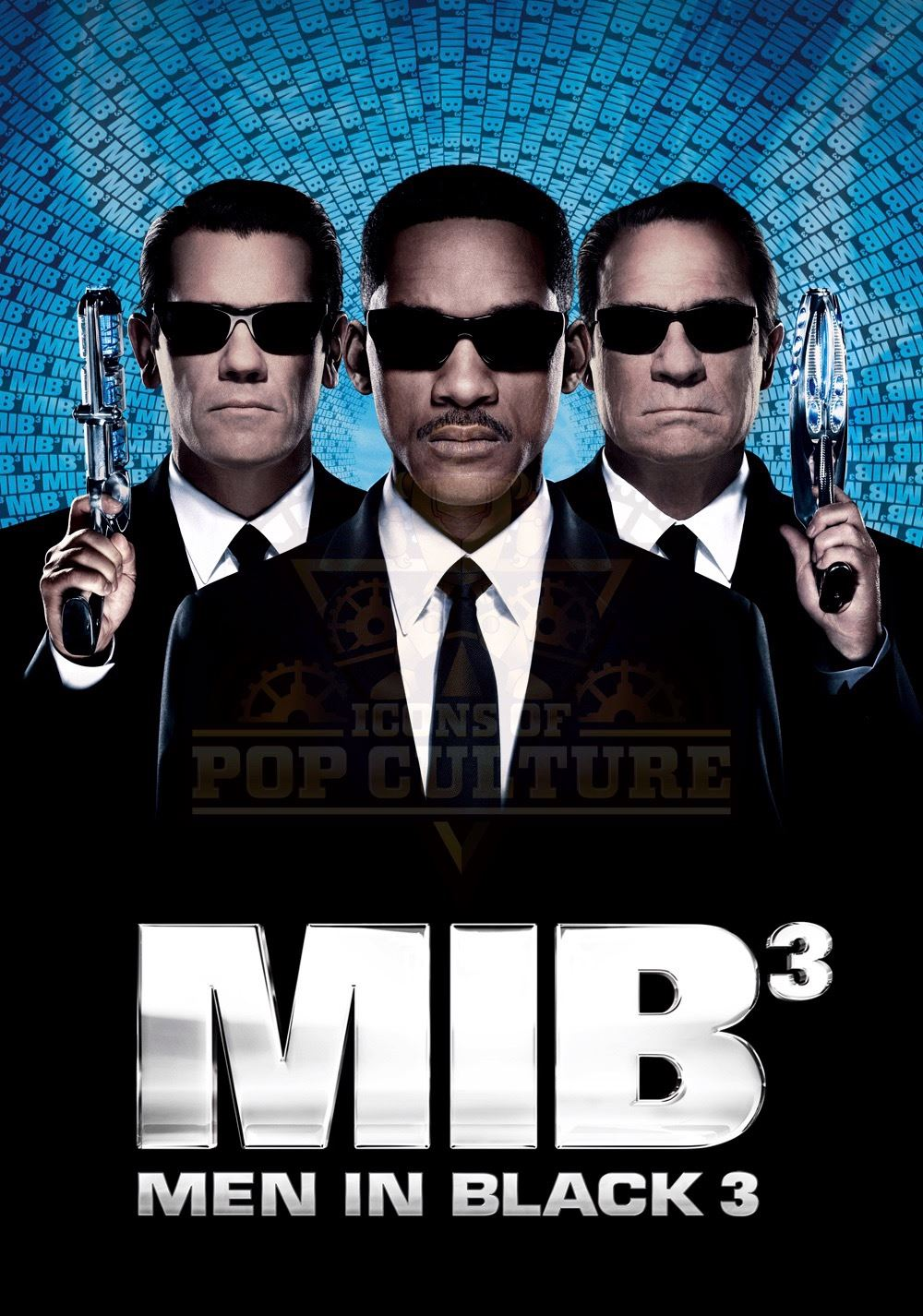 Men in Black 3 - Agent Js (Will Smith) MIB Suit - V521