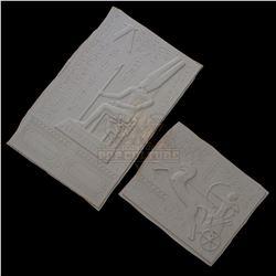 Mummy, The – Large Miniature Egyptian Motif Vacuform Wall Panels – V458