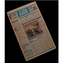 "Natural Born Killers – Prop ""USA Today"" Newspaper – V531"