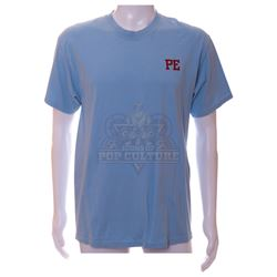 "Social Network, The - Mark Zuckerberg's (Jesse Eisenberg) ""PE"" T-Shirt – V465"