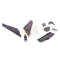 Team America – Miniature Korean Bomber Blown-up Parts – V443
