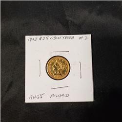 1903 $2.5 Liberty Gold