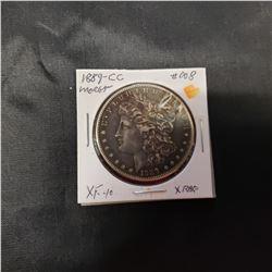 1889 CC Morgan Silver Dollar