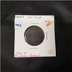 1808/7 Draped Bust Half Cent