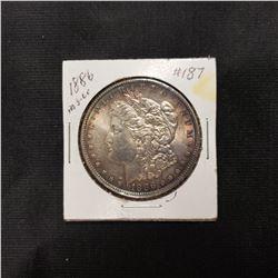 1886 Morgan Dollar