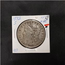 1892-S Morgan Dollar