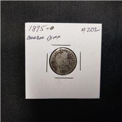 1895 O Barber Dime Grade: VG Bent  Rare