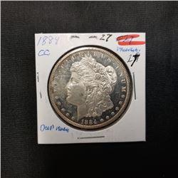 1884-CC Morgan Dollar