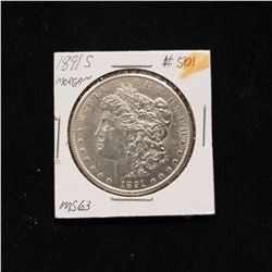 1891 S Morgan Dollar