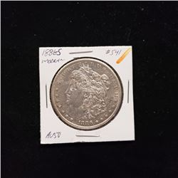 1886 S Morgan Dollar